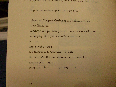 publication data with ISBN