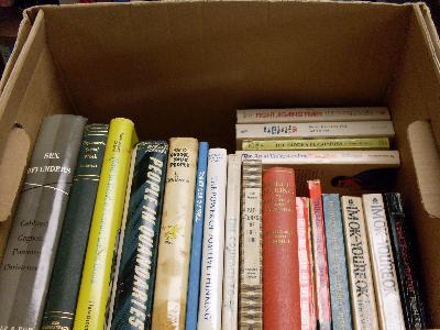 no-ISBN books boxed