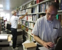 Peter and Frank managing the business section
